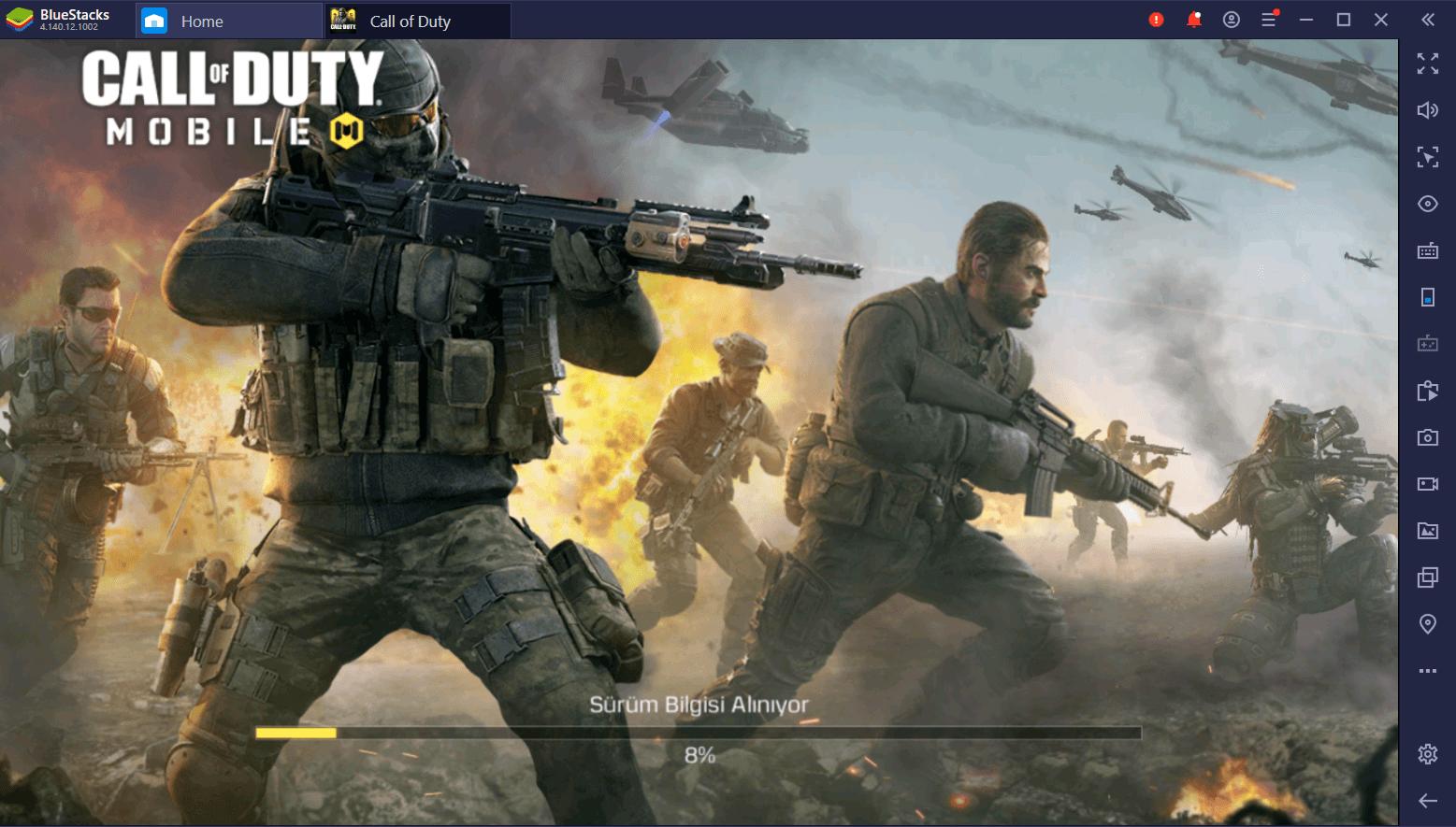 Call of Duty Mobile Bilgisayardan Nasıl Oynanır? Tabii ki BlueStacks ile!
