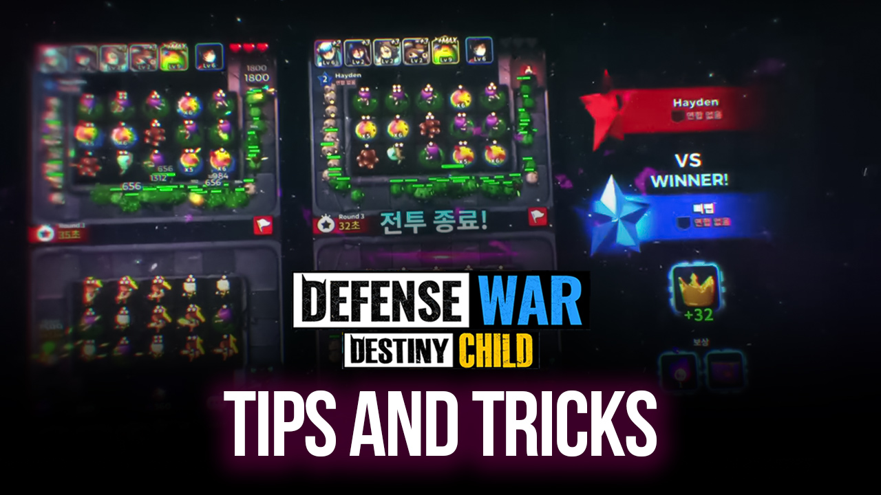 Destiny Child: Defense War Tips, Tricks, and Strategies for Beginners