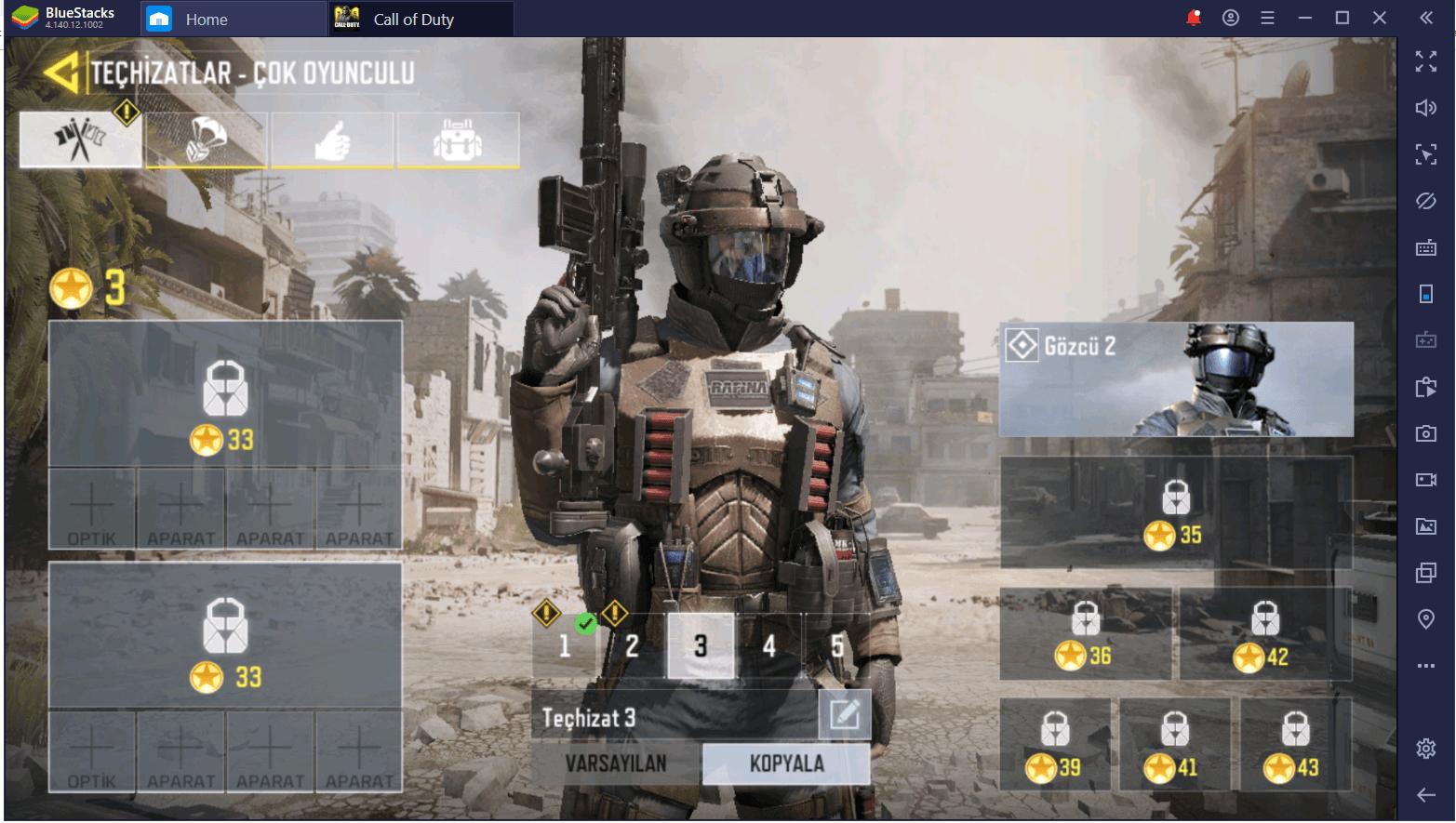 Call of Duty Mobile PC'de Hızlı Rank Atlama Rehberi