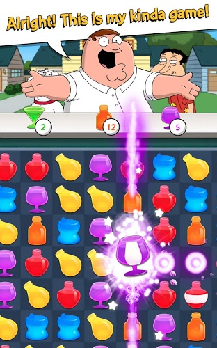 Play Family Guy Freakin Mobile Game on PC 3