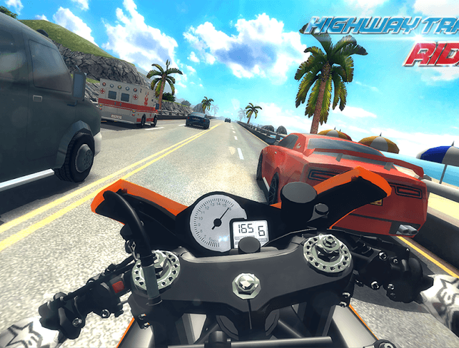 Играй Highway Traffic Rider На ПК 3