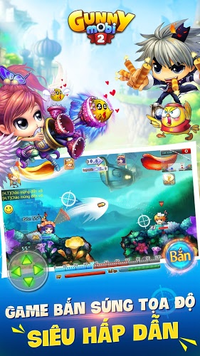 Chơi Gunny Mobi – Bắn Gà Teen&Cute on PC 17