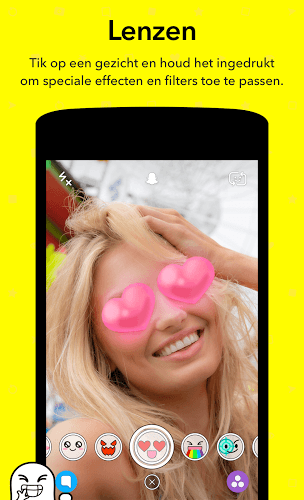 Speel Snapchat app on PC 7