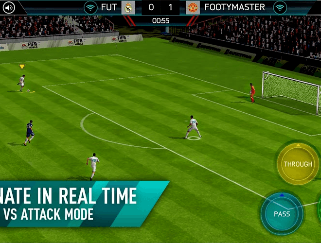 Play Fifa Mobile on PC 5