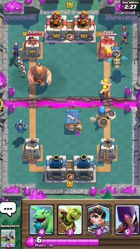 Main Clash Royale on PC 8