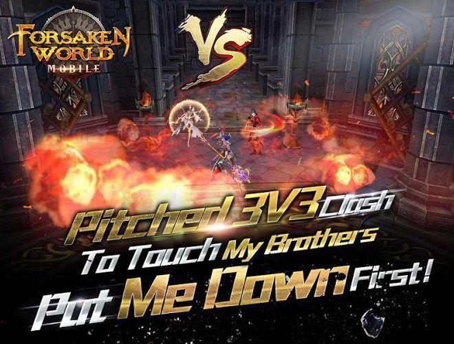 Play Forsaken World Mobile MMORPG on PC 7