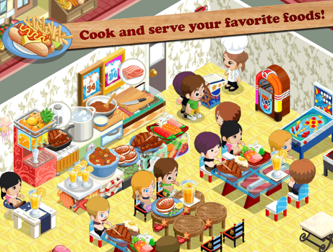 Play Restaurant Story: Food Lab on PC 3