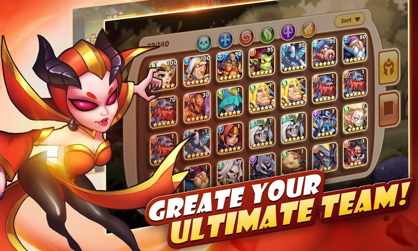 Play Idle Heroes on PC 11