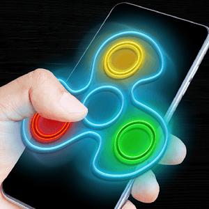 Play Fidget spinner neon glow on PC 1