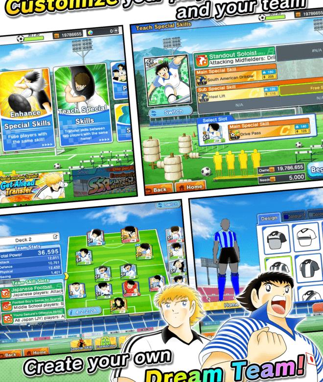 Chơi Captain Tsubasa: Dream Team on PC 21