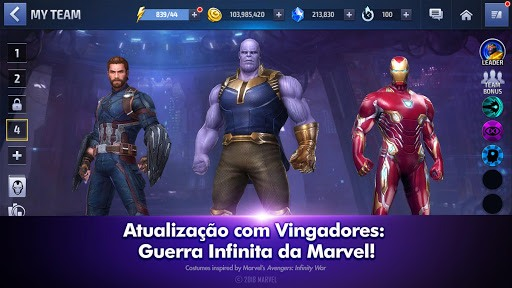 Jogue MARVEL Future Fight para PC 3