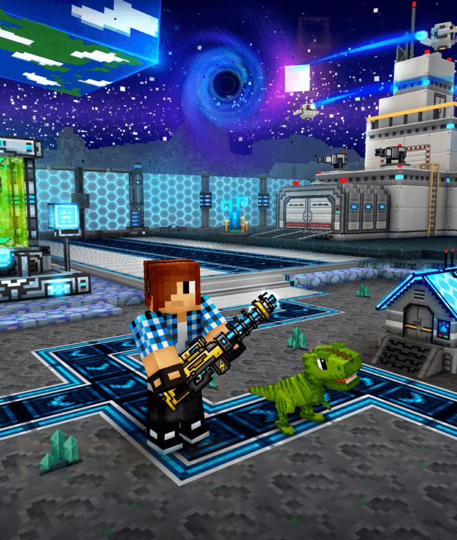 Pixel Gun 3D: Survival shooter & Battle Royale İndirin ve PC'de Oynayın 19