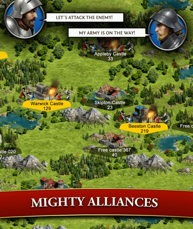 Play Lords & Knights – Strategy MMO on PC 17