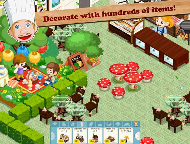 Play Restaurant Story: Food Lab on PC 4