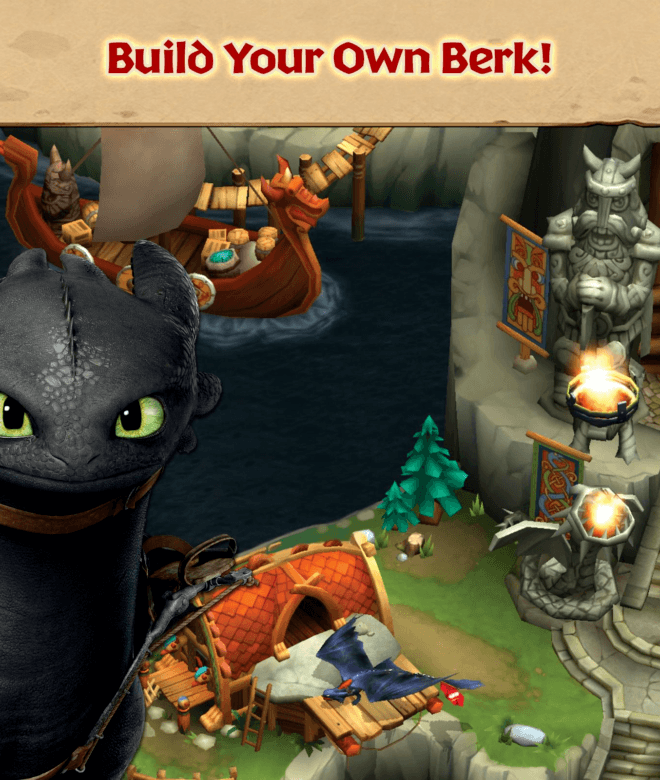 Играй Dragons: Rise of Berk На ПК 17