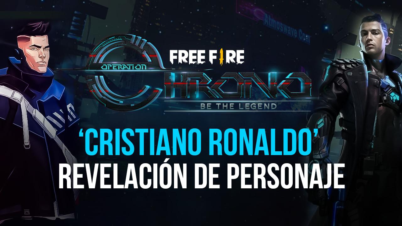 Garena Free Fire – Personaje Inspirado Por Cristiano Ronaldo CR7 Ha Sido Revelado