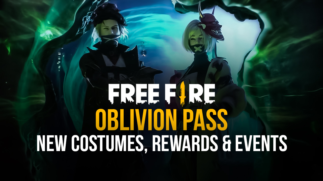 Garena Free Fire Oblivion Pass Brings New Costumes and Rewards, and Lots of Unique Events