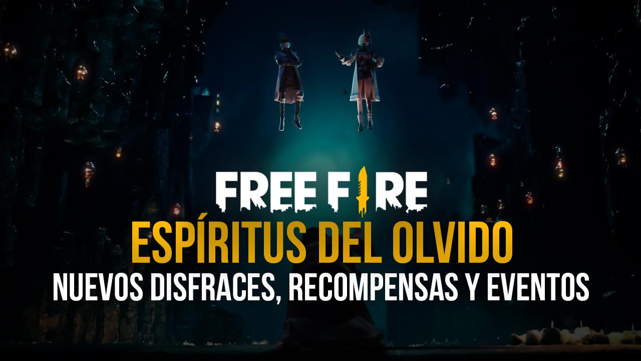 El Pase Élite 'Espíritus del Olvido' de Garena Free Fire Trae Varios Disfraces y Recompensas Nuevas