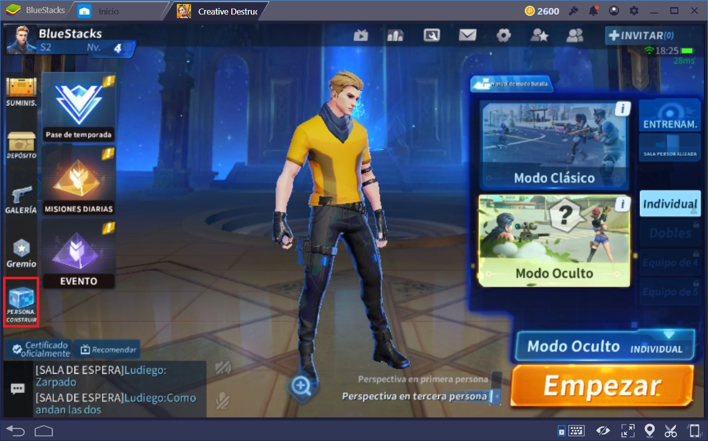 Tips Para Mejorar en Creative Destruction