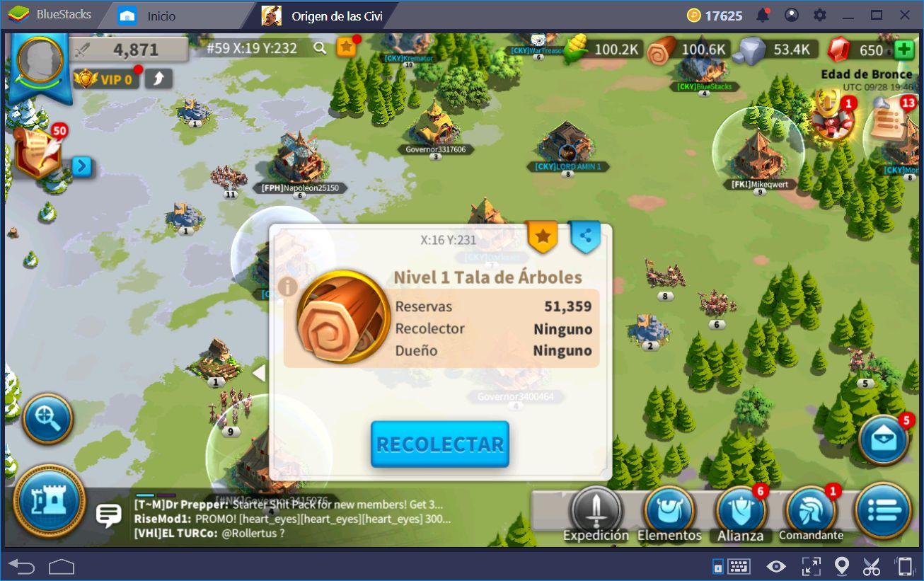 Trucos y Consejos Para Rise of Kingdoms
