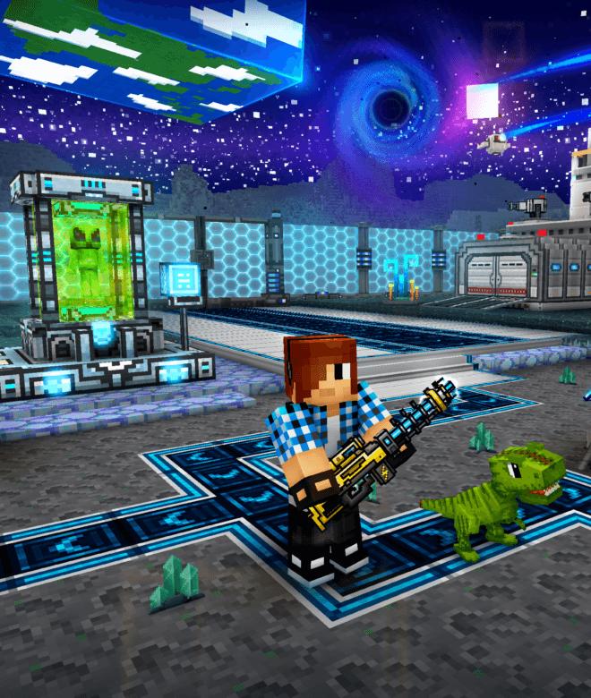 Pixel Gun 3D: Survival shooter & Battle Royale İndirin ve PC'de Oynayın 13