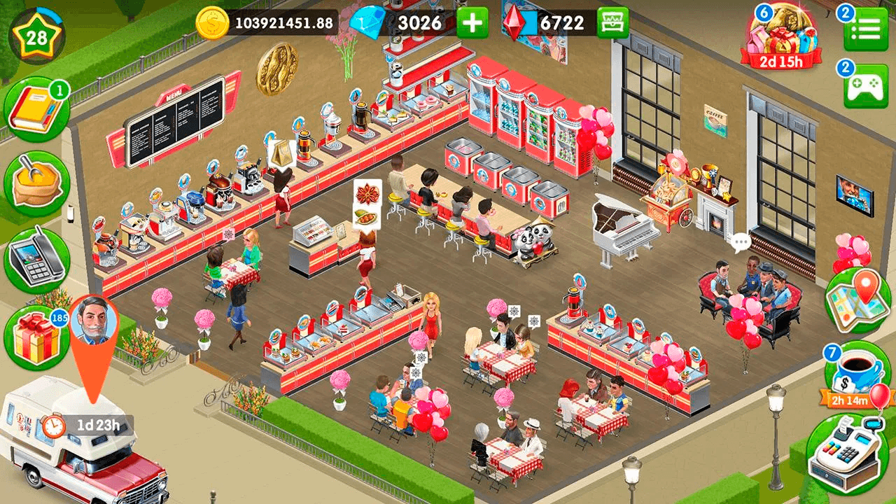 Download My Cafe — Restaurant game on PC with BlueStacks