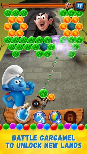 Play Smurfs Bubble Story on PC 4