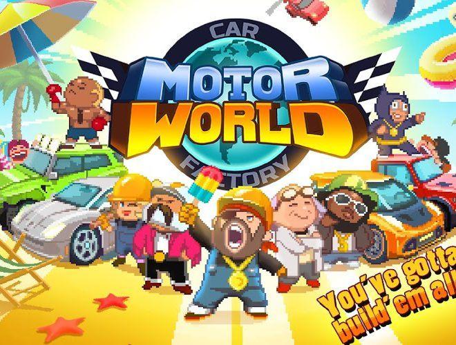 Играй Motor World Car Factory На ПК 3