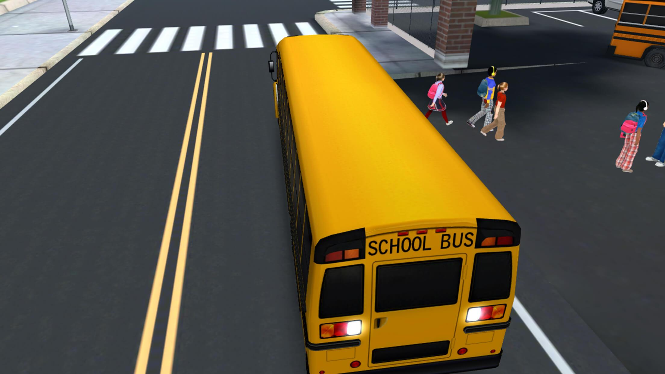 Download Super High School Bus Driving Simulator 3D - 2018 On Pc With Bluestacks-6819