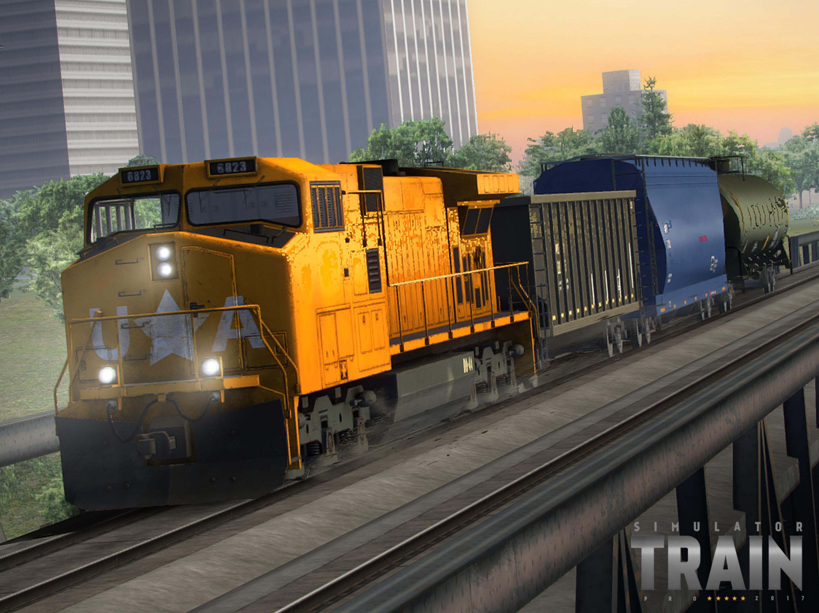 Download Train Simulator PRO 2018 on PC with BlueStacks