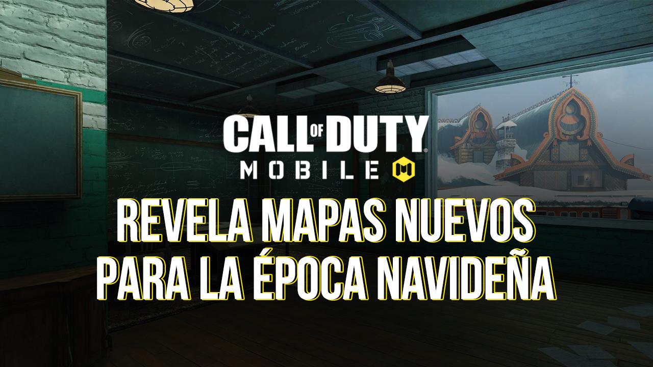 Call of Duty: Mobile Revela Mapas Nuevos Para la Época Navideña