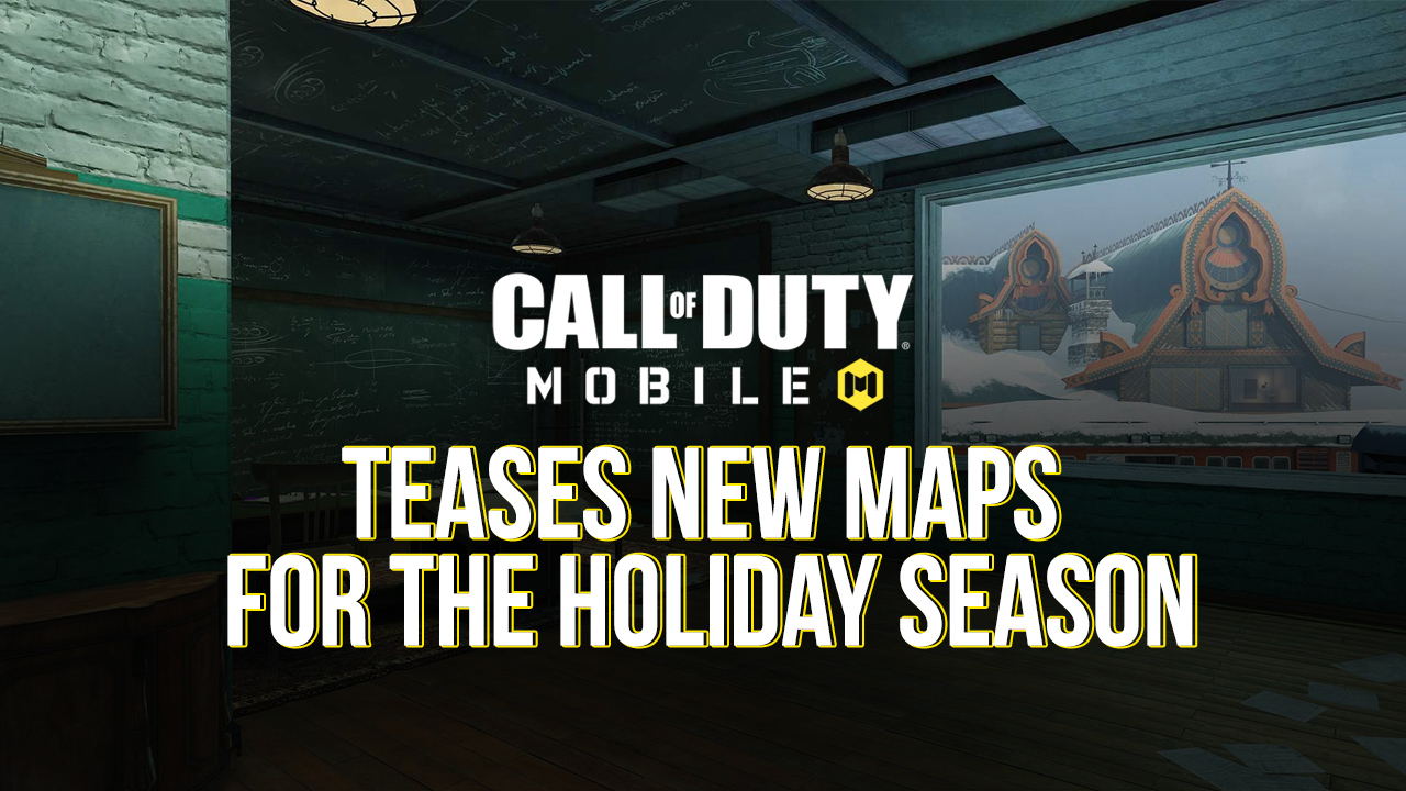Call of Duty: Mobile Teases New Maps for the Holiday Season