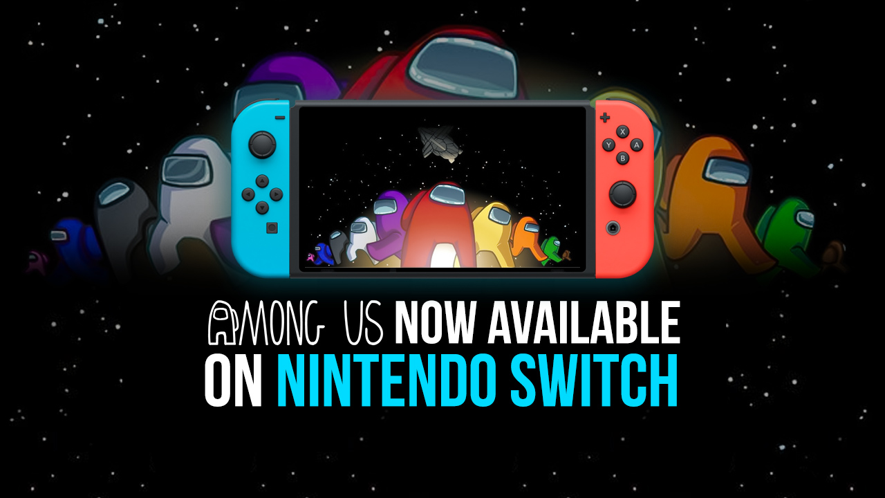 Among Us стала доступна на Nintendo Switch!