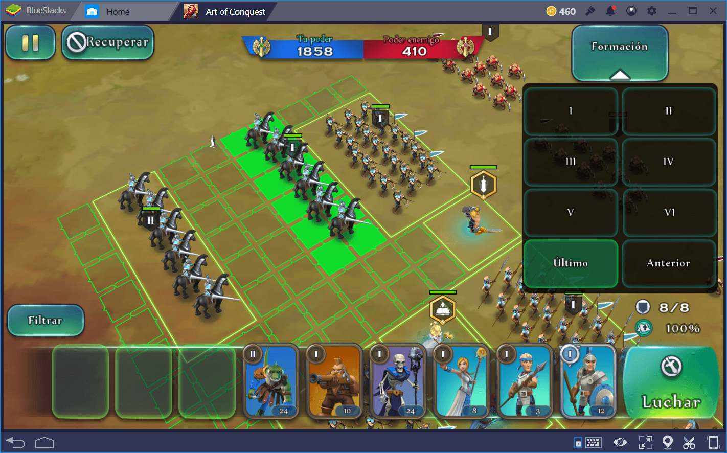 Consejos Generales para Art of Conquest (AoC)