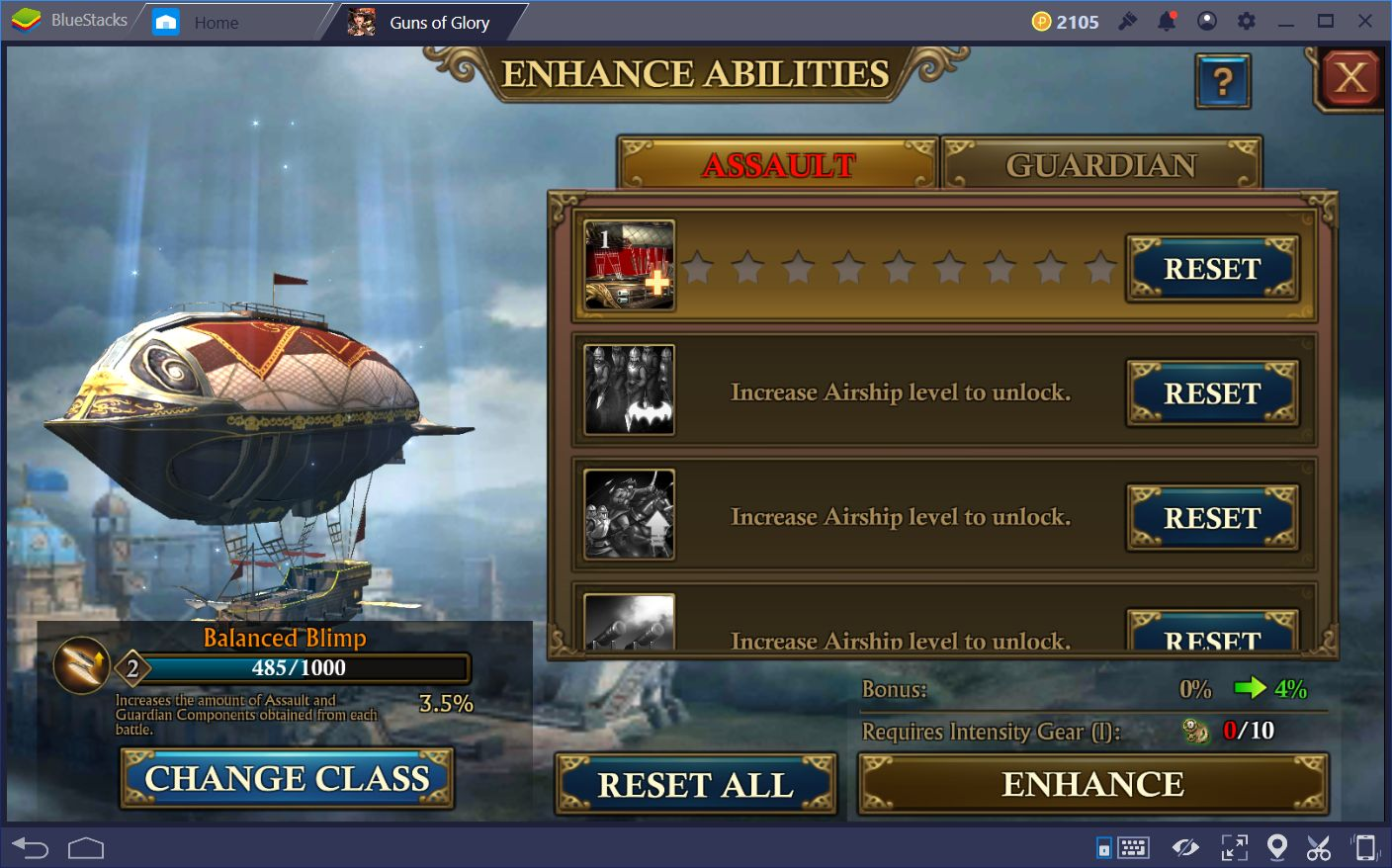 A Guide to the Airship in Guns of Glory on PC
