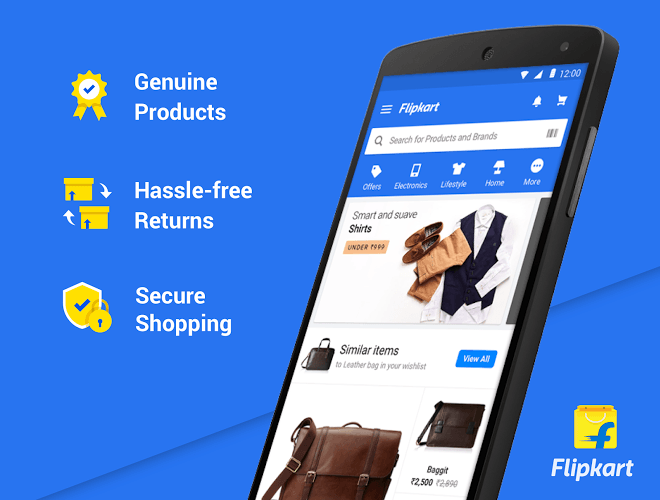 Play Flipkart app on PC 2