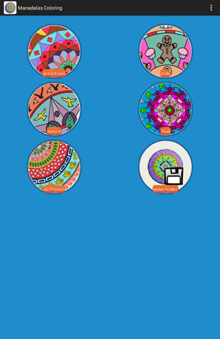 Play Mandala Coloring Pages on pc 4