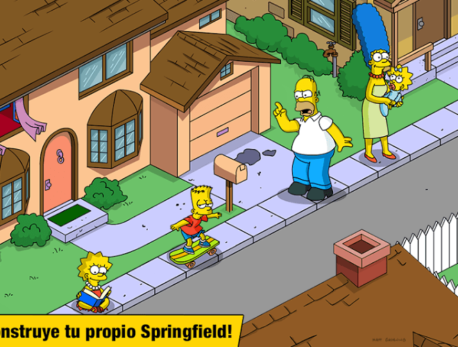 Juega Simpsons Tapped Out on pc 14