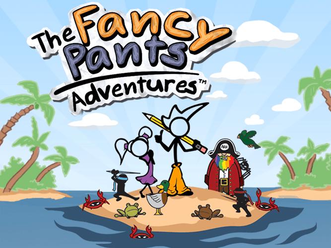 Играй Fancy Pants Adventures На ПК 20