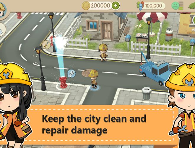 เล่น Chibi Town on PC 4