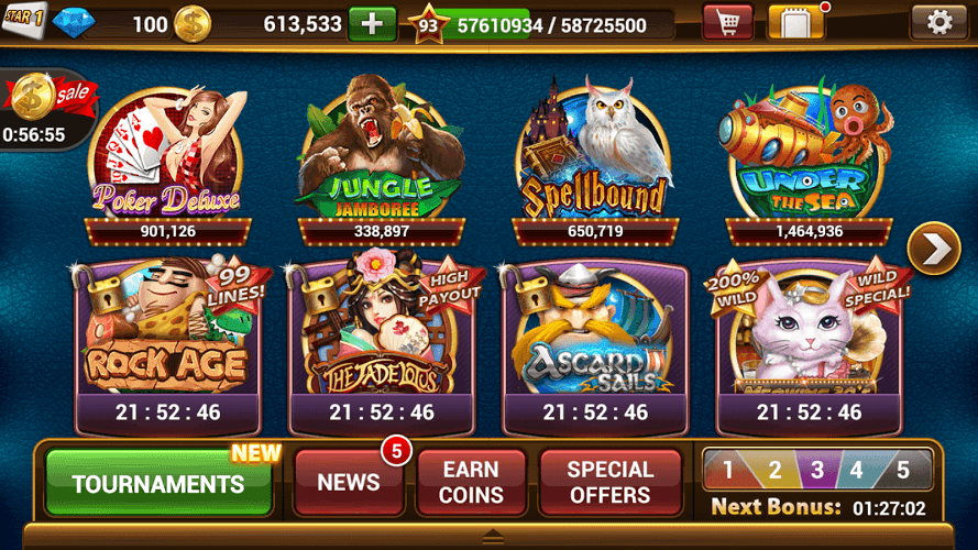 lightning machine pokies online