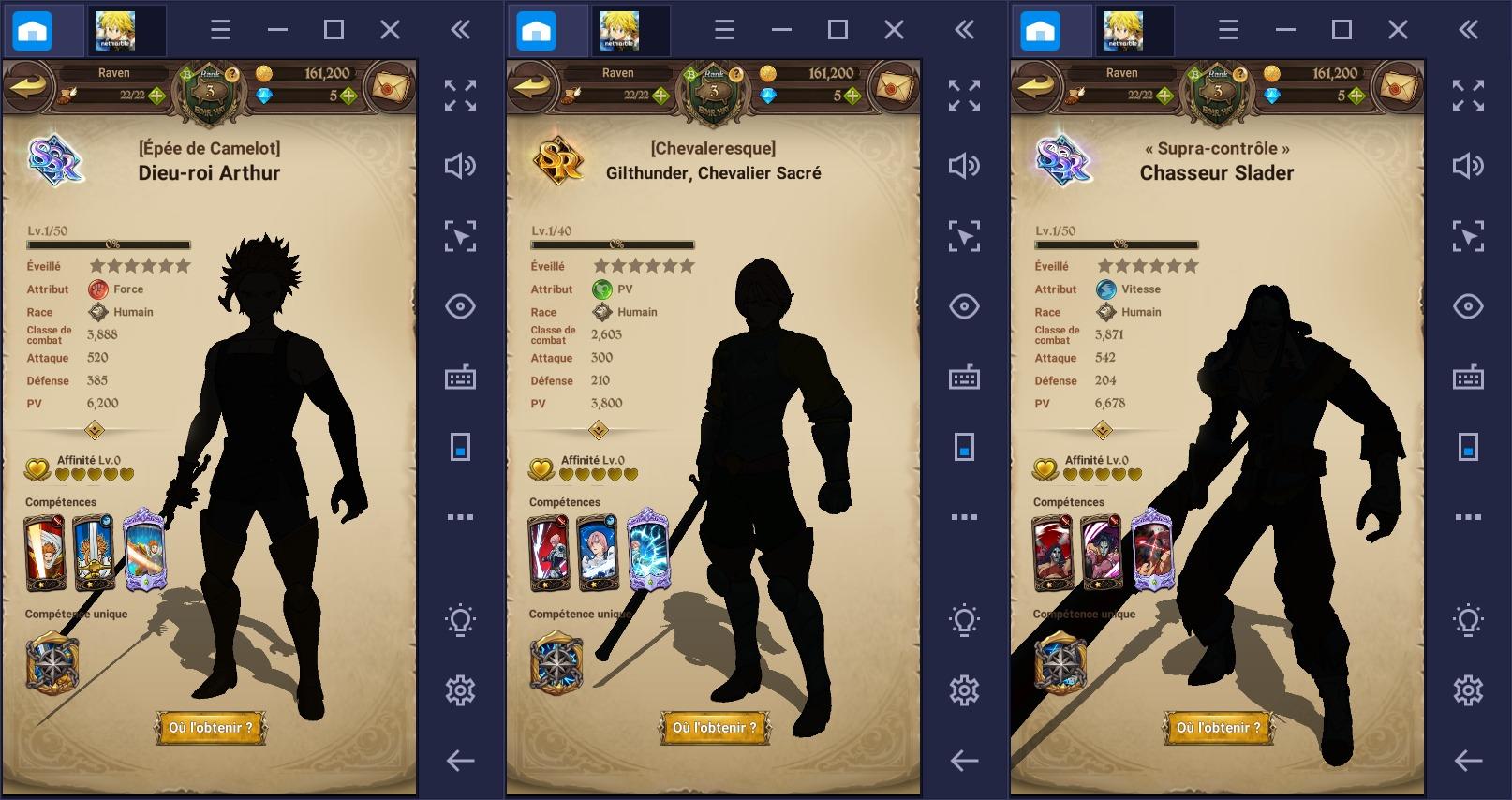The Seven Deadly Sins: Grand Cross – Les meilleurs personnages du jeu