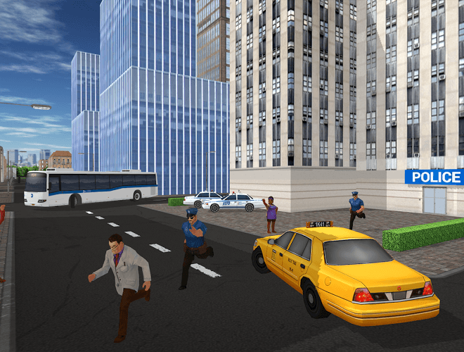 Play Taxi Game on PC 3