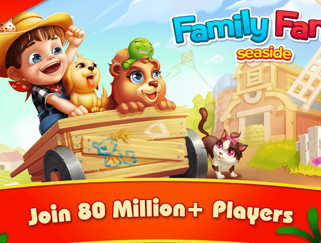 Play Family Farm seaside on PC 9