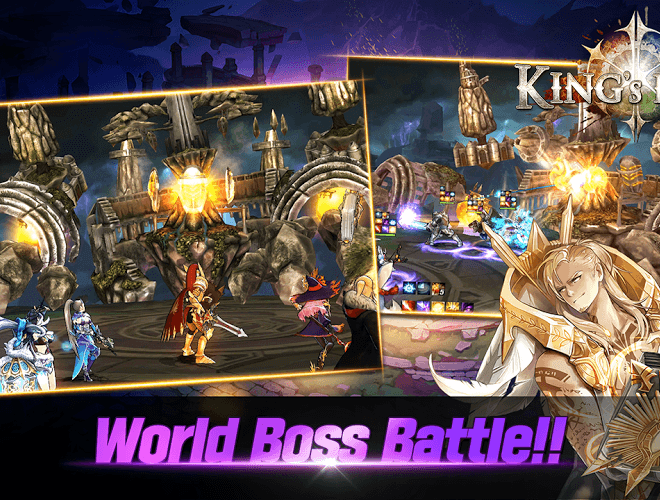 Play King's Raid on PC 5