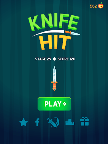 Играй Knife Hit На ПК 15