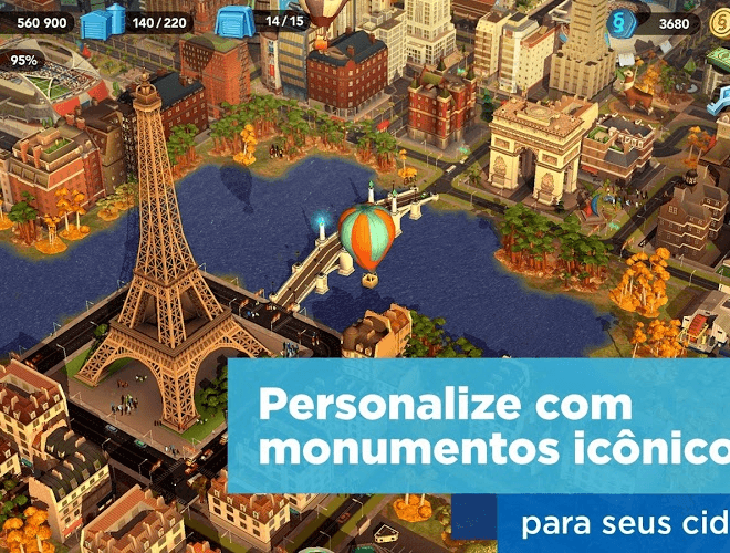 Jogue SimCity BuildIt para PC 4