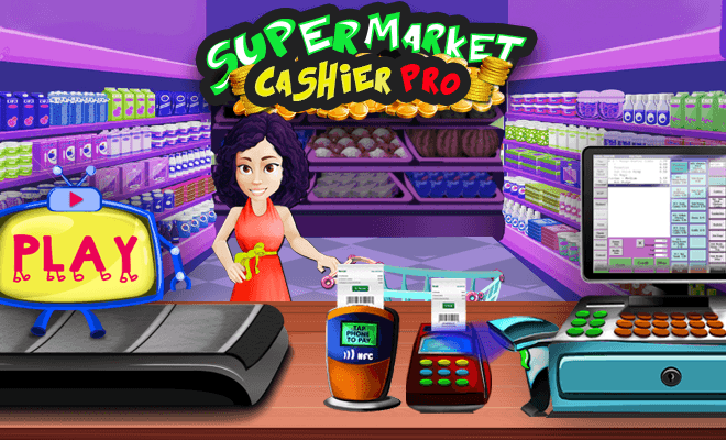 เล่น ซูเปอร์มาร์เก็ต แคชเชียร์ Pro on PC 7