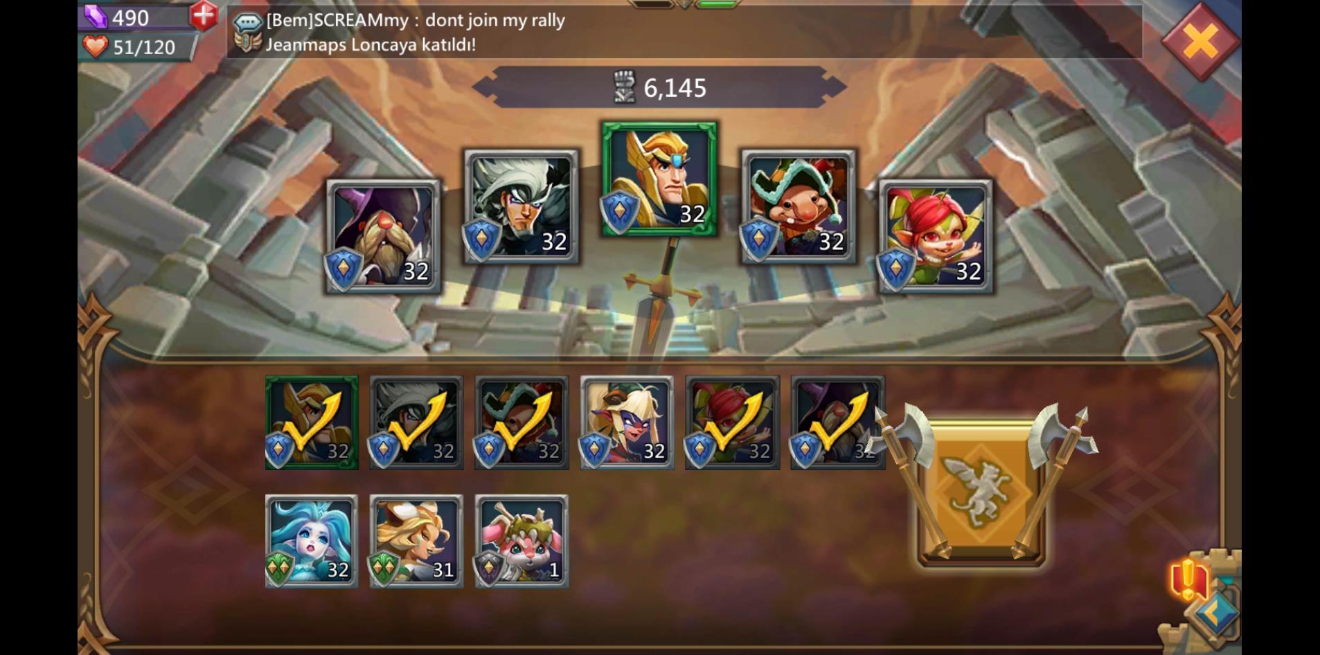 Lords Mobile Kahraman Bilgileri Ve Rehberi