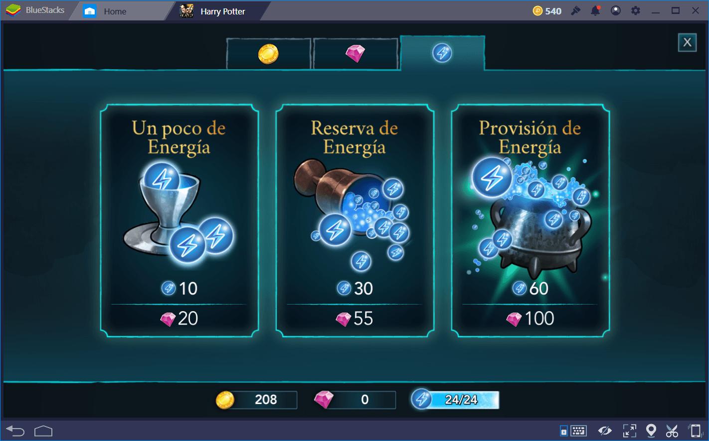 Como Administrar Tu Energia En Harry Potter Hogwarts Mystery